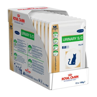 Royal Canin Urinary Chicken/Beef Cat Pouch 12х100 г для кошек страдающих циститом.