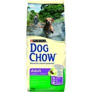 Dog Chow Adult Lamb,  Корм с ягненком, 14 кг