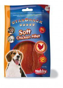 Nobby StarSnack SOFT CHICKEN FILLET Снаксы курица филе 70 гр